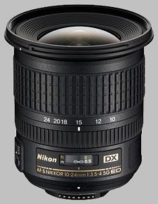 image of the Nikon 10-24mm f/3.5-4.5G ED DX AF-S Nikkor lens