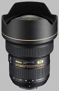 image of the Nikon 14-24mm f/2.8G IF-ED AF-S Nikkor lens