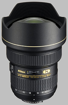 image of the Nikon 14-24mm f/2.8G IF-ED AF-S Nikkor lens
