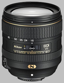 image of the Nikon 16-80mm f/2.8-4E ED VR DX AF-S Nikkor lens