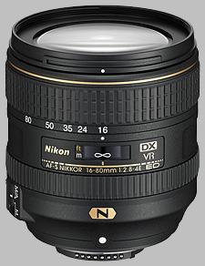 image of the Nikon 16-80mm f/2.8-4E ED VR DX AF-S Nikkor lens