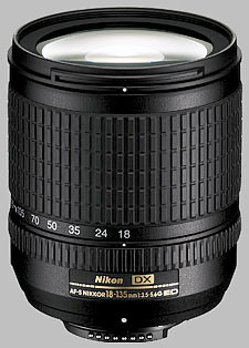 image of the Nikon 18-135mm f/3.5-5.6G IF-ED DX AF-S Nikkor lens