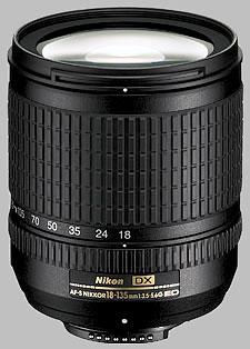 image of the Nikon 18-135mm f/3.5-5.6G IF-ED DX AF-S Nikkor lens
