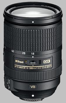 image of the Nikon 18-300mm f/3.5-5.6G ED VR DX AF-S Nikkor lens
