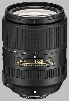 image of the Nikon 18-300mm f/3.5-6.3G ED VR DX AF-S Nikkor lens