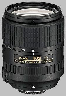 image of the Nikon 18-300mm f/3.5-6.3G ED VR DX AF-S Nikkor lens