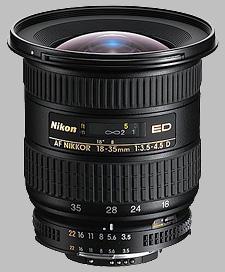 image of the Nikon 18-35mm f/3.5-4.5D ED-IF AF Nikkor lens