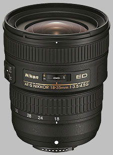 image of the Nikon 18-35mm f/3.5-4.5G ED AF-S Nikkor lens