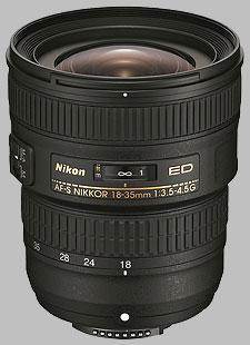 image of the Nikon 18-35mm f/3.5-4.5G ED AF-S Nikkor lens
