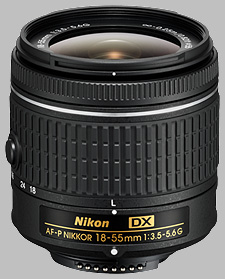 image of the Nikon 18-55mm f/3.5-5.6G DX AF-P Nikkor lens
