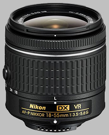 image of the Nikon 18-55mm f/3.5-5.6G DX VR AF-P Nikkor lens