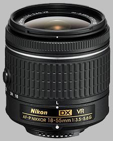 image of the Nikon 18-55mm f/3.5-5.6G DX VR AF-P Nikkor lens