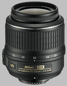 image of the Nikon 18-55mm f/3.5-5.6G VR DX AF-S Nikkor lens