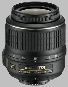 image of the Nikon 18-55mm f/3.5-5.6G VR DX AF-S Nikkor lens