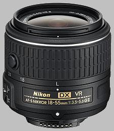 image of Nikon 18-55mm f/3.5-5.6G VR II DX AF-S Nikkor