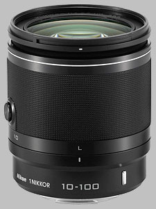 image of the Nikon 1 10-100mm f/4.0-5.6 Nikkor VR lens