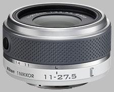 image of the Nikon 1 11-27.5mm f/3.5-5.6 Nikkor lens