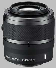 image of the Nikon 1 30-110mm f/3.8-5.6 Nikkor VR lens