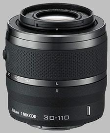 image of the Nikon 1 30-110mm f/3.8-5.6 Nikkor VR lens