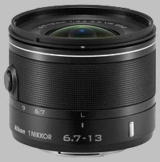 image of the Nikon 1 6.7-13mm f/3.5-5.6 Nikkor VR lens