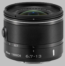 image of the Nikon 1 6.7-13mm f/3.5-5.6 Nikkor VR lens