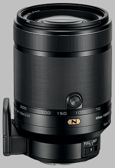 image of the Nikon 1 70-300mm f/4.5-5.6 Nikkor VR lens