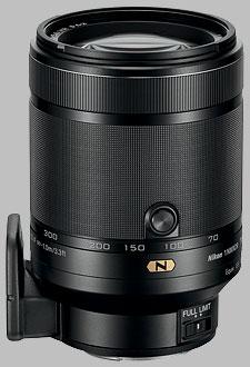 image of the Nikon 1 70-300mm f/4.5-5.6 Nikkor VR lens