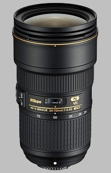 image of the Nikon 24-70mm f/2.8E ED VR AF-S Nikkor lens