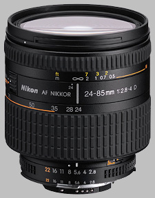 image of the Nikon 24-85mm f/2.8-4D IF AF Nikkor lens