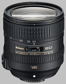 image of Nikon 24-85mm f/3.5-4.5G ED VR AF-S Nikkor