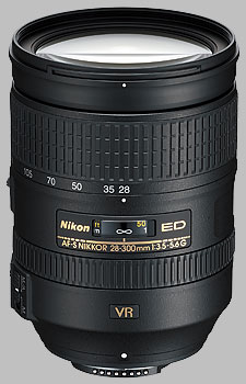 image of the Nikon 28-300mm f/3.5-5.6G ED VR AF-S Nikkor lens