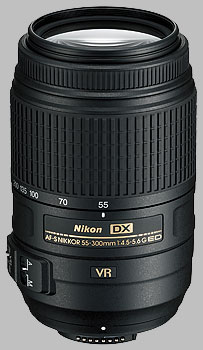 image of the Nikon 55-300mm f/4.5-5.6G ED VR DX AF-S Nikkor lens