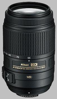image of the Nikon 55-300mm f/4.5-5.6G ED VR DX AF-S Nikkor lens