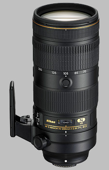 image of the Nikon 70-200mm f/2.8E FL ED VR AF-S Nikkor lens