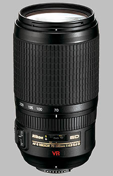image of the Nikon 70-300mm f/4.5-5.6G IF-ED VR AF-S Nikkor lens