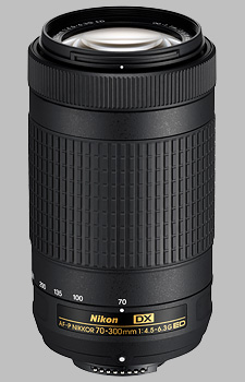 image of the Nikon 70-300mm f/4.5-6.3G ED DX AF-P Nikkor lens