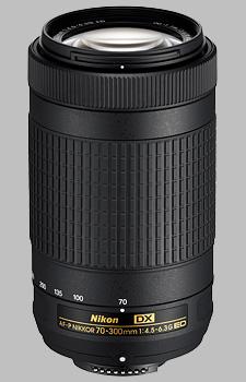 image of the Nikon 70-300mm f/4.5-6.3G ED DX AF-P Nikkor lens