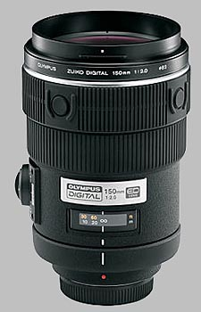 image of the Olympus 150mm f/2 Zuiko Digital lens