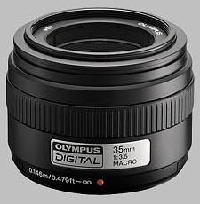 image of Olympus 35mm f/3.5 Zuiko Digital Macro