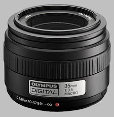 image of the Olympus 35mm f/3.5 Zuiko Digital Macro lens