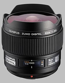 image of the Olympus 8mm f/3.5 Zuiko Digital Fisheye lens