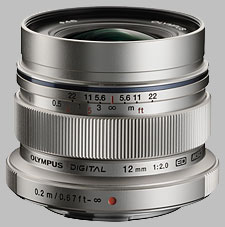 image of the Olympus 12mm f/2 ED M.Zuiko Digital lens