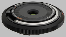 image of the Olympus 15mm f/8 BCL-1580 Body Cap Lens lens