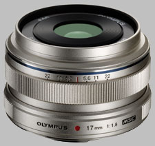 image of the Olympus 17mm f/1.8 M.Zuiko Digital lens
