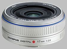 image of the Olympus 17mm f/2.8 M.Zuiko Digital lens