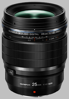 image of the Olympus 25mm f/1.2 Pro M.Zuiko Digital ED lens