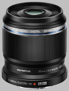 image of the Olympus 30mm f/3.5 Macro M.Zuiko Digital ED lens