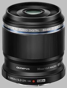 image of the Olympus 30mm f/3.5 Macro M.Zuiko Digital ED lens