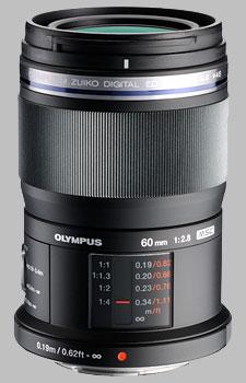 image of the Olympus 60mm f/2.8 M.Zuiko Digital ED lens
