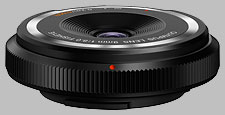image of the Olympus 9mm f/8 BCL-0980 Fisheye Body Cap Lens lens